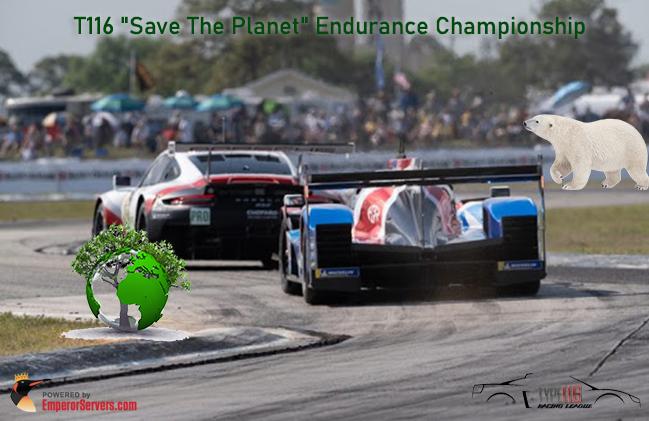 "T116 ""Save The Planet"" Endurance Championship-image"